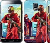 "Чехол на Samsung Galaxy S5 g900h GTA 5. Heroes 4 ""956c-24"""