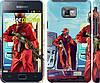 "Чехол на Samsung Galaxy S2 Plus i9105 GTA 5. Heroes 4 ""956c-71"""