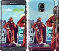 "Чехол на Samsung Galaxy Note 4 N910H GTA 5. Heroes 4 ""956c-64"""