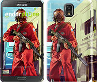 "Чехол на Samsung Galaxy Note 3 N9000 GTA 5. Heroes 4 ""956c-29"""