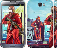 "Чехол на Samsung Galaxy Note 2 N7100 GTA 5. Heroes 4 ""956c-17"""