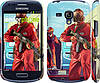 "Чехол на Samsung Galaxy S3 mini GTA 5. Heroes 4 ""956c-31"""