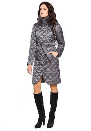 Воздуховик Braggart Angel's Fluff 31030 | Куртка женская зимняя жемчужно-серая, фото 2