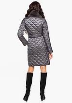 Воздуховик Braggart Angel's Fluff 31030 | Куртка женская зимняя жемчужно-серая, фото 3