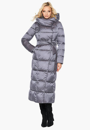 Воздуховик Braggart Angel's Fluff 31056 | Теплая женская куртка жемчужно-серая, фото 2