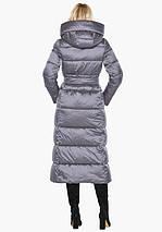 Воздуховик Braggart Angel's Fluff 31056 | Теплая женская куртка жемчужно-серая, фото 3