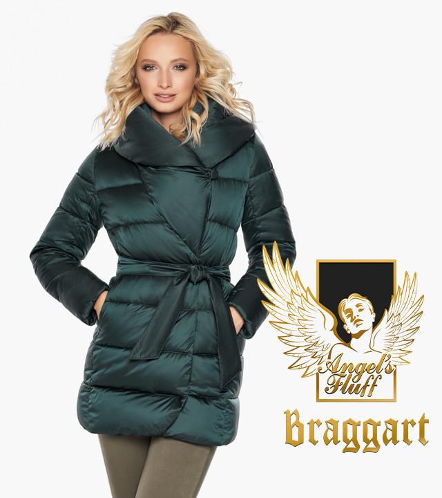 Воздуховик Braggart Angel's Fluff 31064 | Женская зимняя куртка изумруд