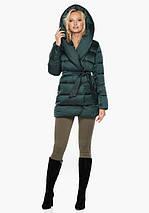 Воздуховик Braggart Angel's Fluff 31064 | Женская зимняя куртка изумруд, фото 2