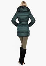 Воздуховик Braggart Angel's Fluff 31064 | Женская зимняя куртка изумруд, фото 3