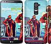 """Чехол на LG G2 GTA 5. Heroes 4 """"956c-37"""""""