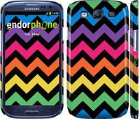 "Чехол на Samsung Galaxy S3 Duos I9300i Шеврон v1 ""1056c-50"""