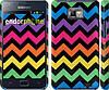 "Чехол на Samsung Galaxy S2 Plus i9105 Шеврон v1 ""1056c-71"""