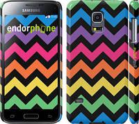 "Чехол на Samsung Galaxy S5 mini G800H Шеврон v1 ""1056c-44"""