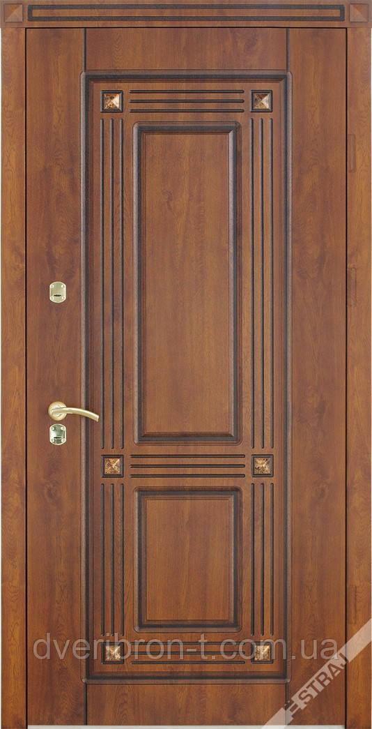 Входная дверь Страж standart Экриз Pt светлый орех