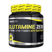 Л-глютамин BioTech Glutamine Zero 300 g глютамин для восстановления