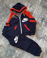 Детский теплый спортивный костюм для мальчиков 24-26 (1,5+3 лет)  Оптом. Турция