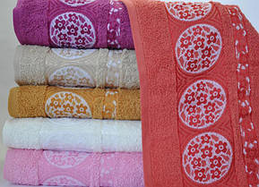 Набор 6 махровых полотенец Sweet Dreams M7 50х90см (лицевые)