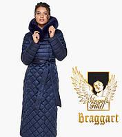 Воздуховик Braggart Angel's Fluff 31012 | Куртка женская зимняя синяя