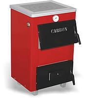 Carbon КСТО-14п new твердотопливный котел с плитой