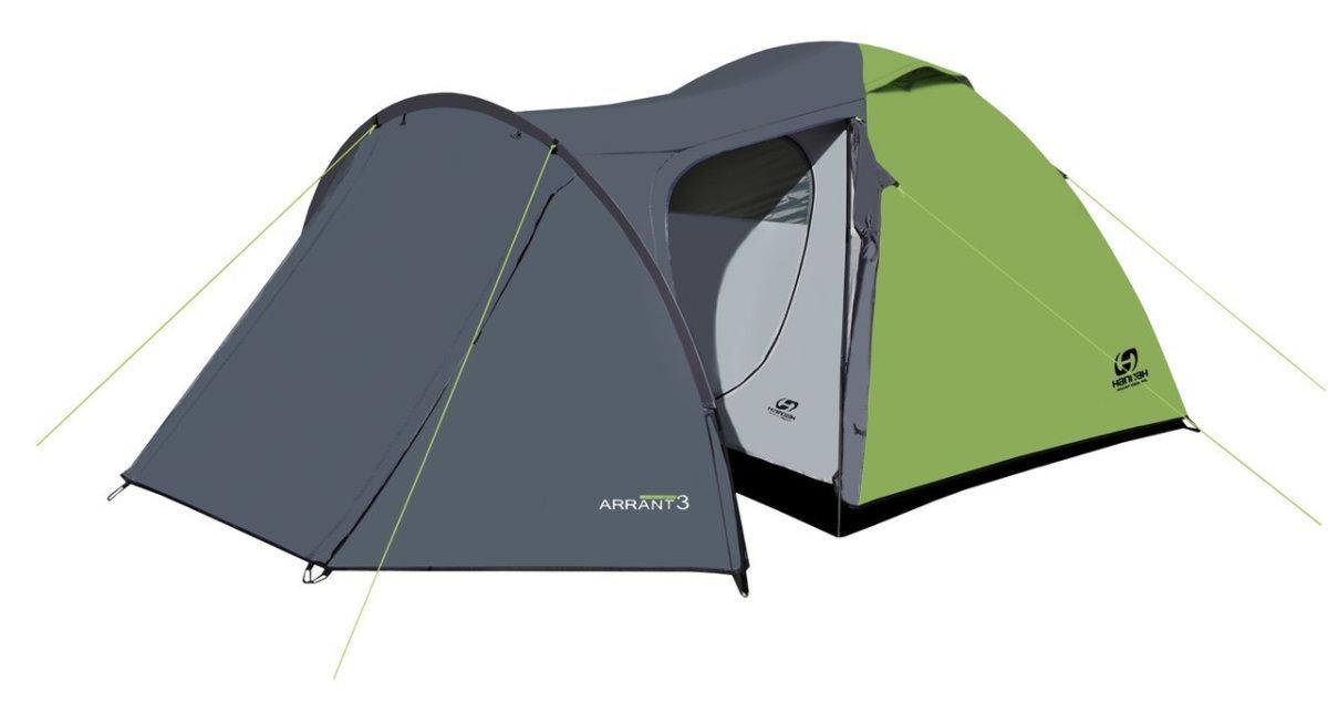 Палатка Hannah ARRANT 3  spring green/cloudy grey