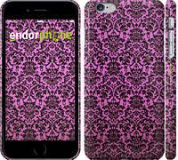 """Чехол на iPhone 6 Plus Розовый узор барокко """"2095c-48"""""""