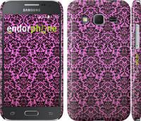 "Чехол на Samsung Galaxy Core Prime G360H Розовый узор барокко ""2095c-76"""