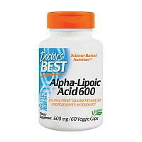 Doctors BEST Alpha Lipoic Acid 600 60 veg caps
