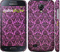 "Чехол на Samsung Galaxy S4 mini Duos GT i9192 Розовый узор барокко ""2095c-63"""