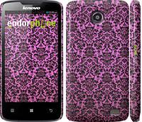 "Чехол на Lenovo A820 Розовый узор барокко ""2095c-68"""