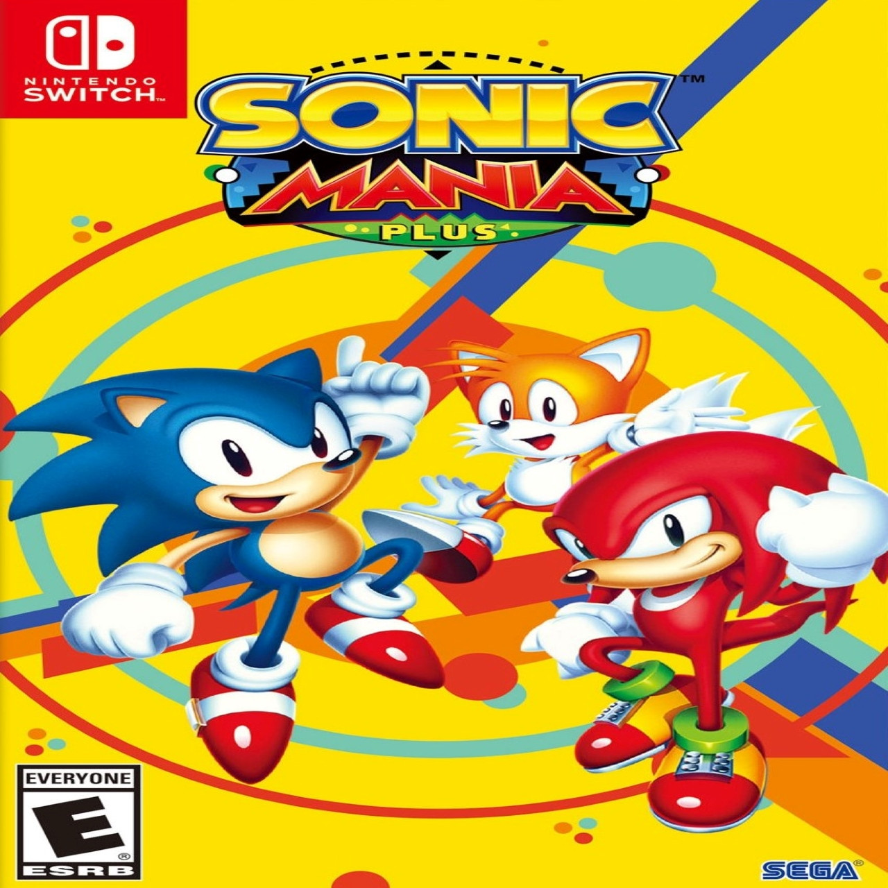 Sonic Mania Nintendo Switch ENG (NEW)