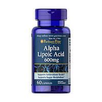 Puritan's Pride Alpha Lipoic Acid 600 mg 60 caps
