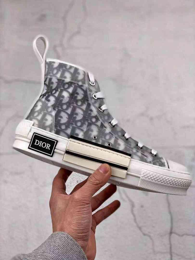"""Женские кроссовки  Dior B23 High-Top Sneakers """"White"""""""