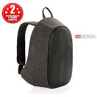 Рюкзак протикрадій з тривожною кнопкою XD Design Bobby Cathy Backpack Black (P705.211), фото 1