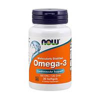 NOW Omega-3 30 softgels