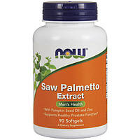 NOW Saw Palmetto Extract 90 softgels