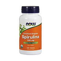 NOW Spirulina 500 mg 100 tabs