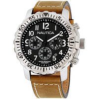 Наручные Часы NAUTICA NMS 01 NAD18506G хронограф Оригинал мужские 45 мм