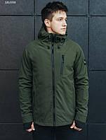 Молодежная демисезонная куртка стаф /Чоловіча куртка Staff soft shell Solar haki LBL0058