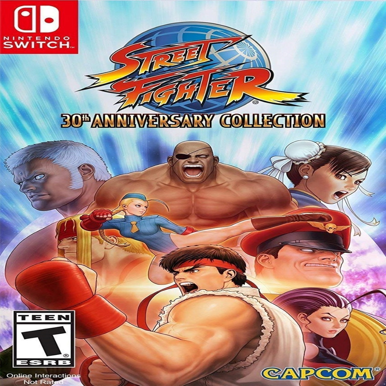 Street Fighter 30th Anniversary Collection ENG Nintendo Switch (NEW)
