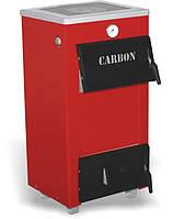 Carbon КСТО-18п твердотопливный котел с плитой