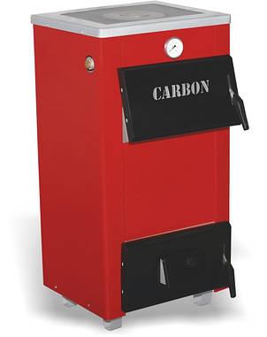 Carbon КСТО-18п твердотопливный котел с плитой, фото 2