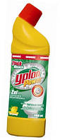 Гель для чистки унітазів лимон 1л YPLON
