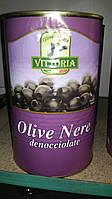 Маслины черные без косточки VITTORIA OLIVE NERE 4,25/2 КГ