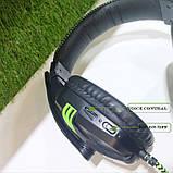 Наушники с микрофонам Salar kx101 черные, фото 6