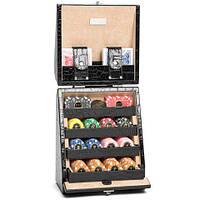 Игровой набор Покер в кожаном чемодане