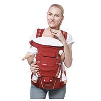 Эрго рюкзак с хипситом Gabesy 5 в 1 Красный