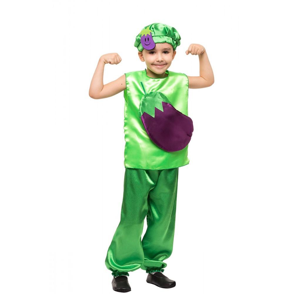 Маскарадный костюм Баклажана на детский утренник выступления