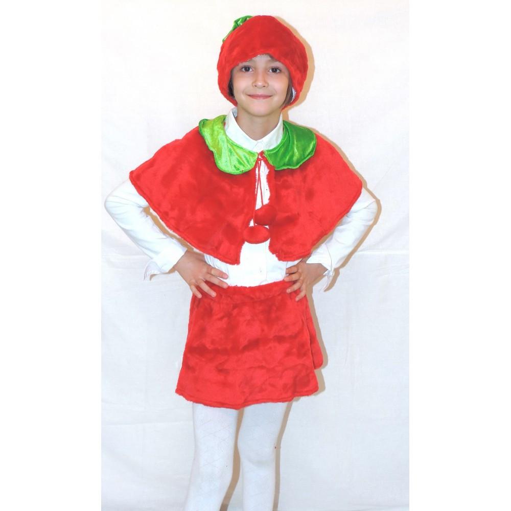 Маскарадный детский костюм Вишенки Ягодки