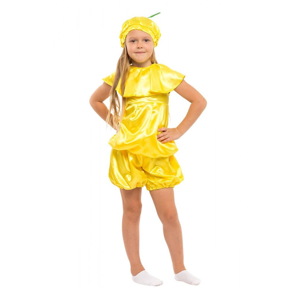 Детский костюм Лимона на Новый Год утренник выступления в садик школу
