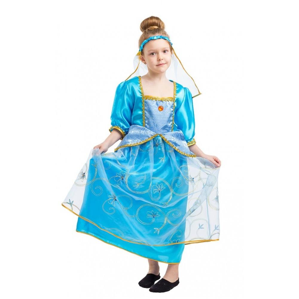 Карнавальный костюм Золушки для девочки на выступления в садик школу